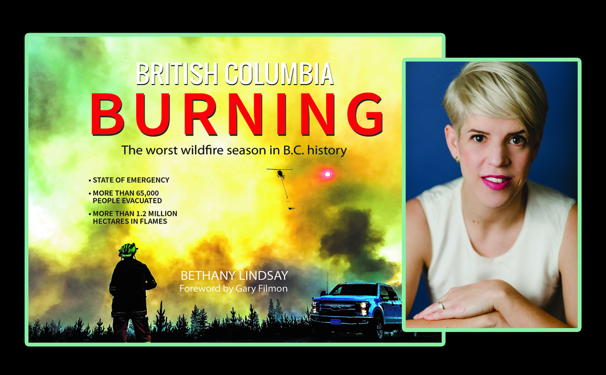 BC Burning and Author 2